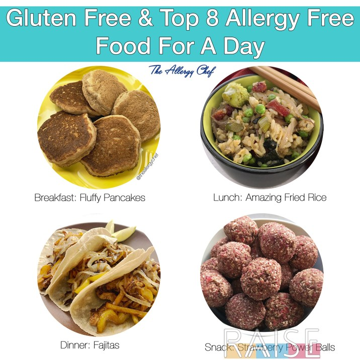 Top 8 Allergy Free 3 Day Meal Plan by The Allergy Chef