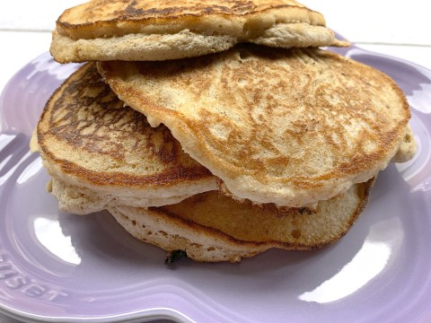 Top 8 Allergy Free Fluffy Chocolate Chip Pancakes by The Allergy Chef