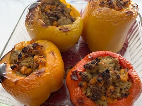 Gluten Free, Top 8 Allergy Free Stuffed Sweet Potatoes by The Allergy Chef