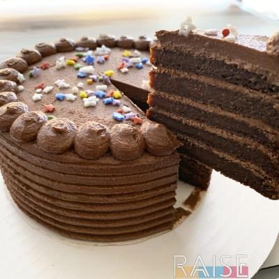 Gluten Free, Grain Free Birthday Cake by The Allergy Chef