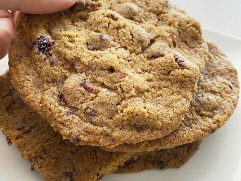 Gluten Free, Vegan, Top 8 Free Chocolate Cherry Cookies by The Allergy Chef