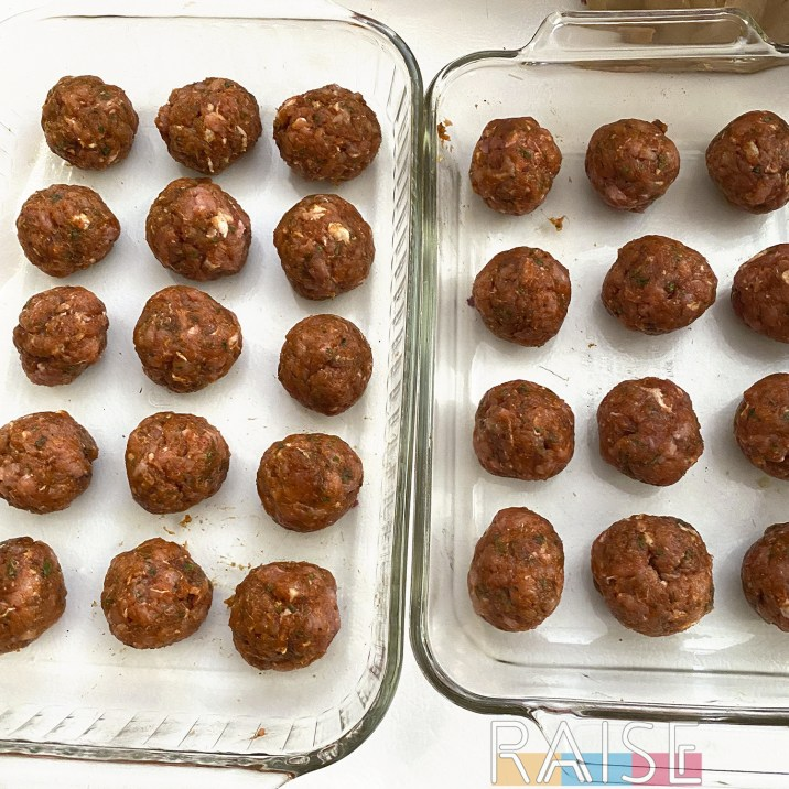 Meatballs in Baking Dish by The Allergy Chef