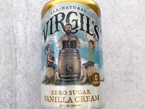 Virgil's Zero Sugar Vanilla Cream Soda by The Allergy Chef