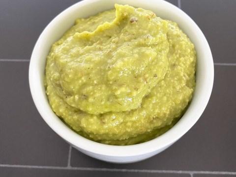Corn Free Avocado Porridge by The Allergy Chef