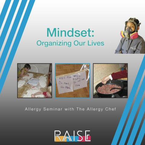 Allergy Seminar: Organizing Our Lives