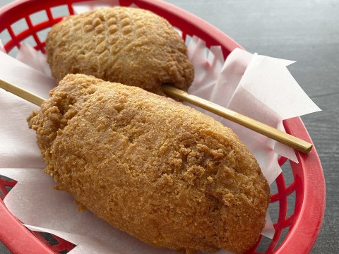Corn Free Corn Dogs by The Allergy Chef