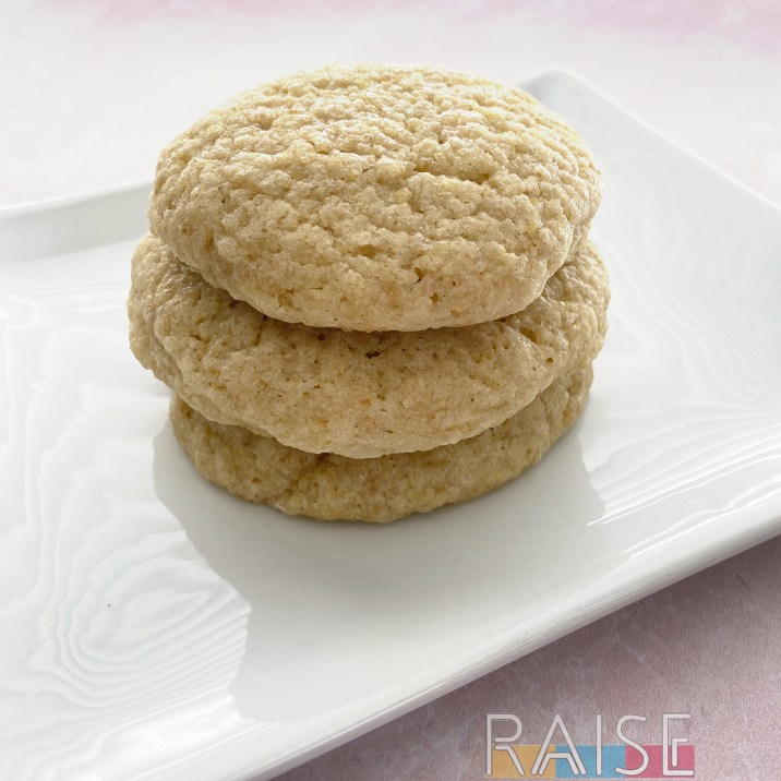 Fluffy Gluten Free Rose Cookies, Vegan, Top 8 Allergy Free by The Allergy Chef