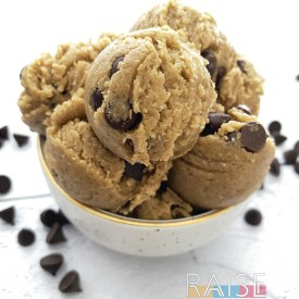 Gluten Free Vegan Mint Chocolate Chip Edible Cookie Dough