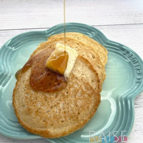 Gluten Free, Vegan, Top 8 Free Amazing Fluffy Pancakes