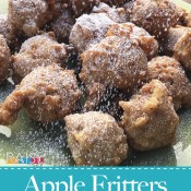 Gluten Free Apple Fritters (Vegan, Top 8 Free) by The Allergy Chef