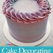 Frosting Cakes with Natural Dyes