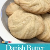 Gluten Free Vegan Danish Butter Cookies