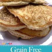 Grain Free Vegan Fluffy Pancakes