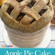 Gluten Free Vegan Apple Pie Cake Tutorial