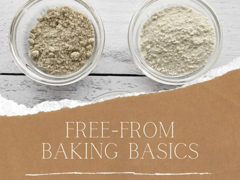 Free From Baking Basics: Dry Goods