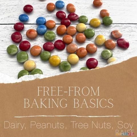 Free From Baking Basics: Major Allergens