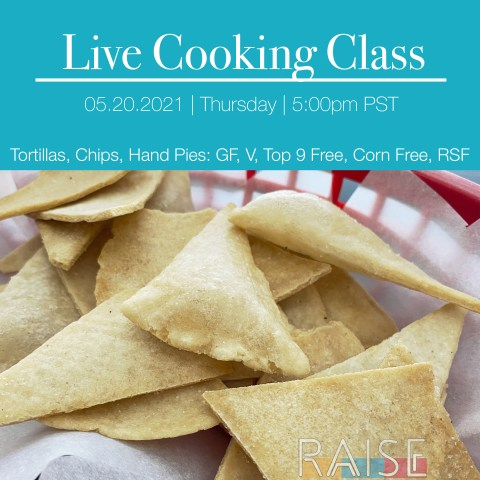 Grain Free Tortilla Chips by The Allergy Chef