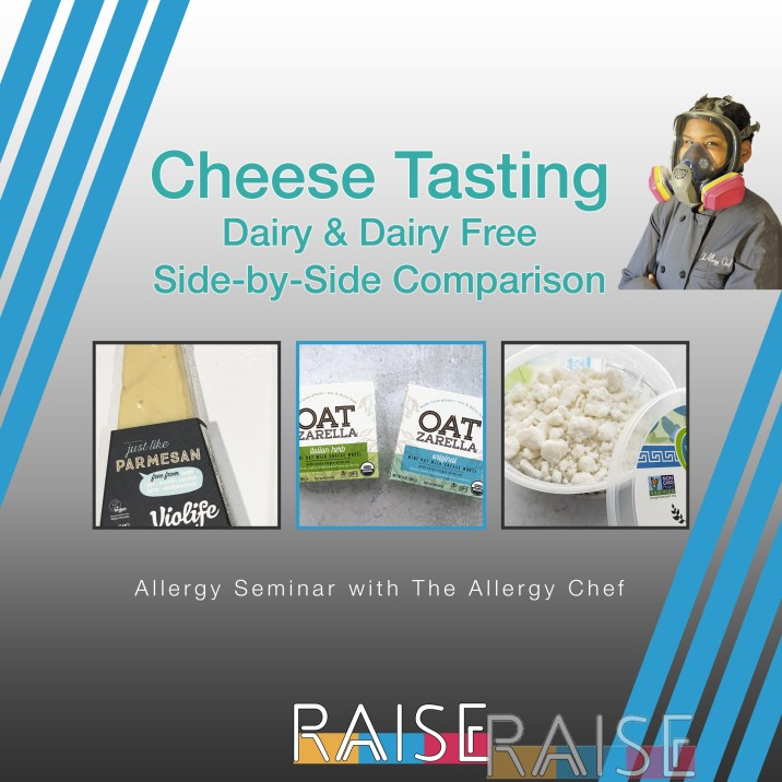 Cheese Tasting Seminar with The Allergy Chef
