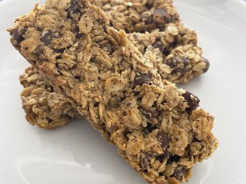Gluten Free, Vegan, Top 9 Free Homemade Chocolate Chip Granola Bars by The Allergy Chef