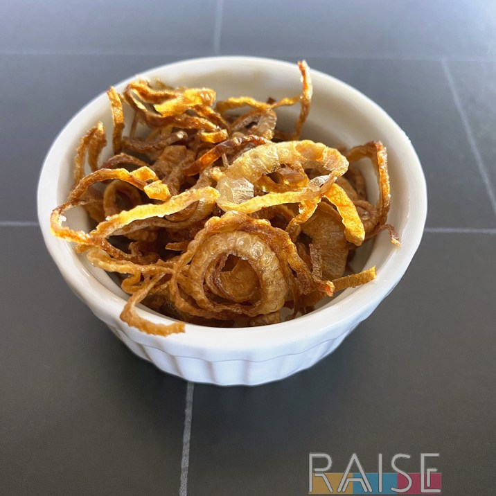 Gluten Free Crispy Fried Shallots by The Allergy Chef