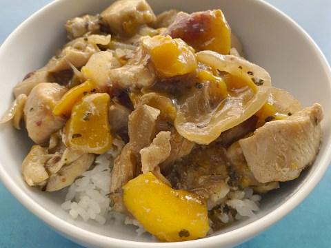 Gluten Free, Top 8 Allergy Free Mango Chicken by The Allergy Chef