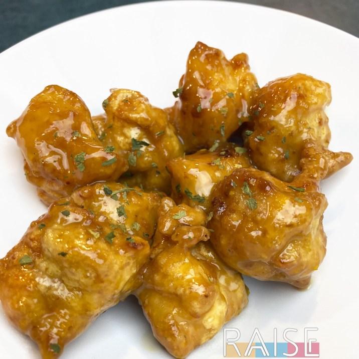 Gluten Free & Refined Sugar Free Orange Chicken by The Allergy Chef