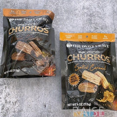 The Daily Crave Gluten Free Churro Snacks by The Allergy Chef