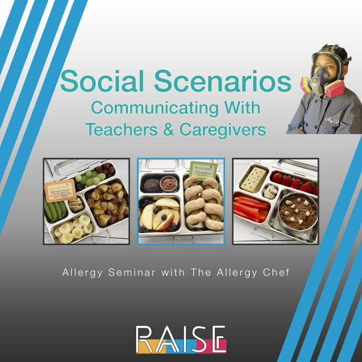 Allergy Seminar Communicating with Teachers and Caregivers