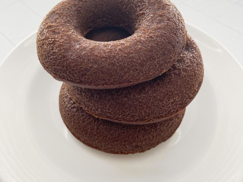 Gluten Free, Vegan Chocolate Baked Doughnuts by The Allergy Chef