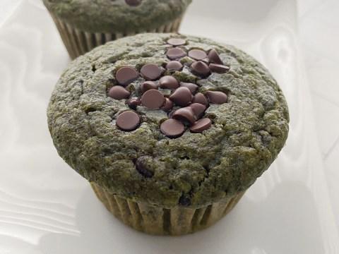 Gluten Free Vegan Spinach Muffins by The Allergy Chef