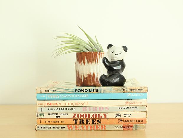 panda airplant holder