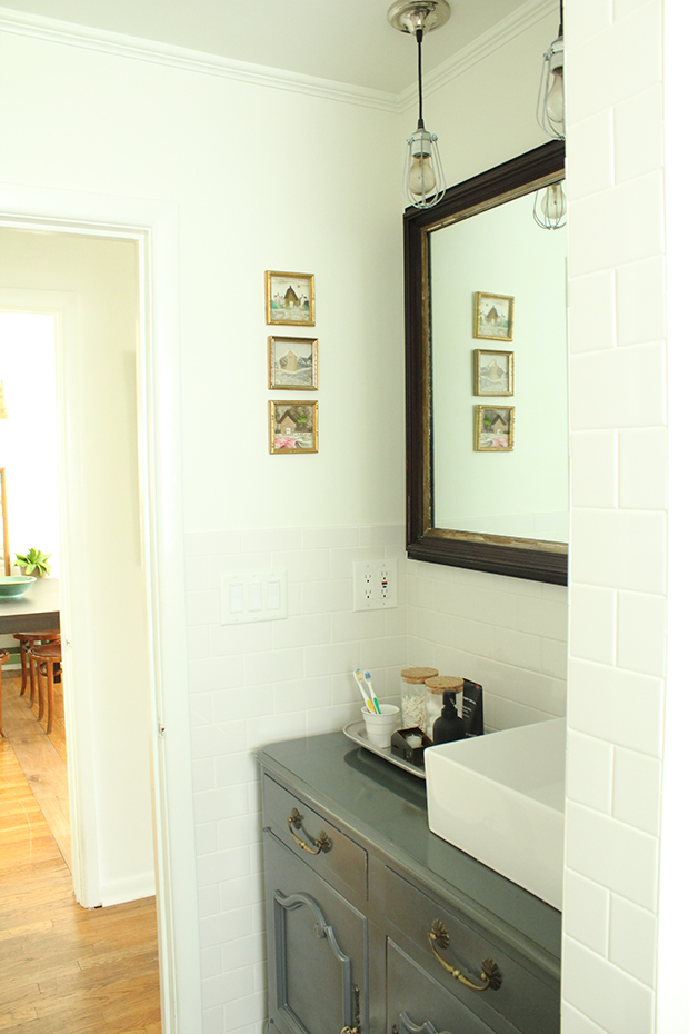 raised by design - bathroom renovation