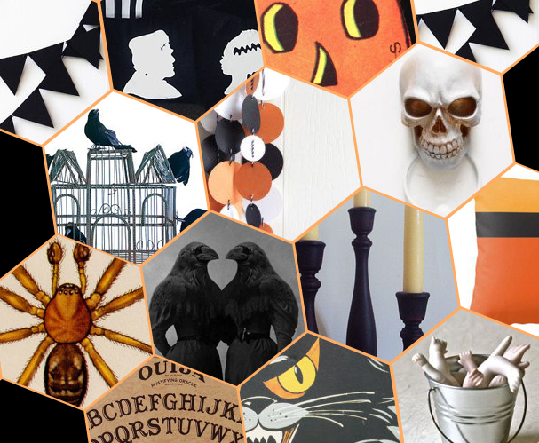 raised by design - halloween decor part 1 - 13 ways to add spooky decor to your home