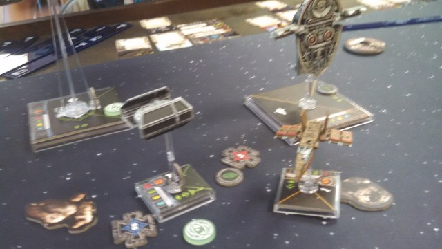 Vader moves in to end Palob