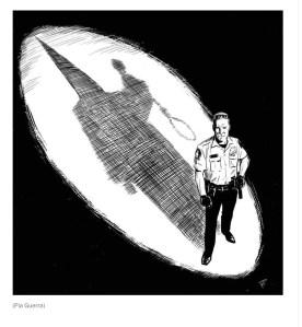 Derek Chauvin casts a KKK shadow