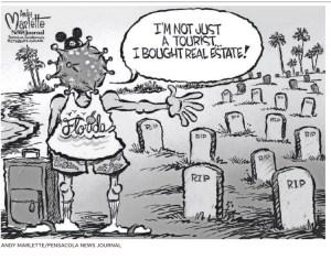 Andy Marlette, political cartoon, Pensacola News Journal