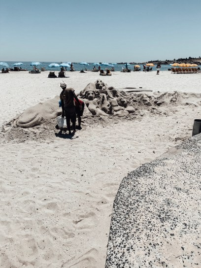 Camps Bay Beach Sand Castle