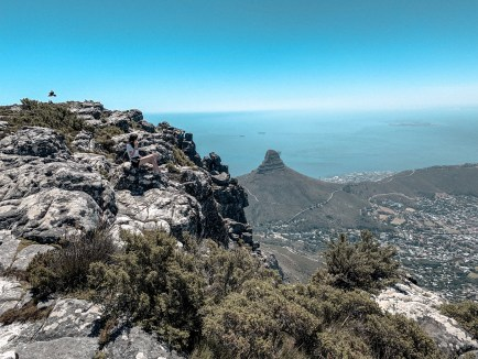 Table Mountain with a view of Lions Head