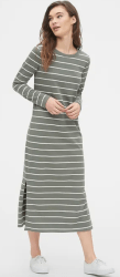 Gap Long Sleeve Knit Midi Dress
