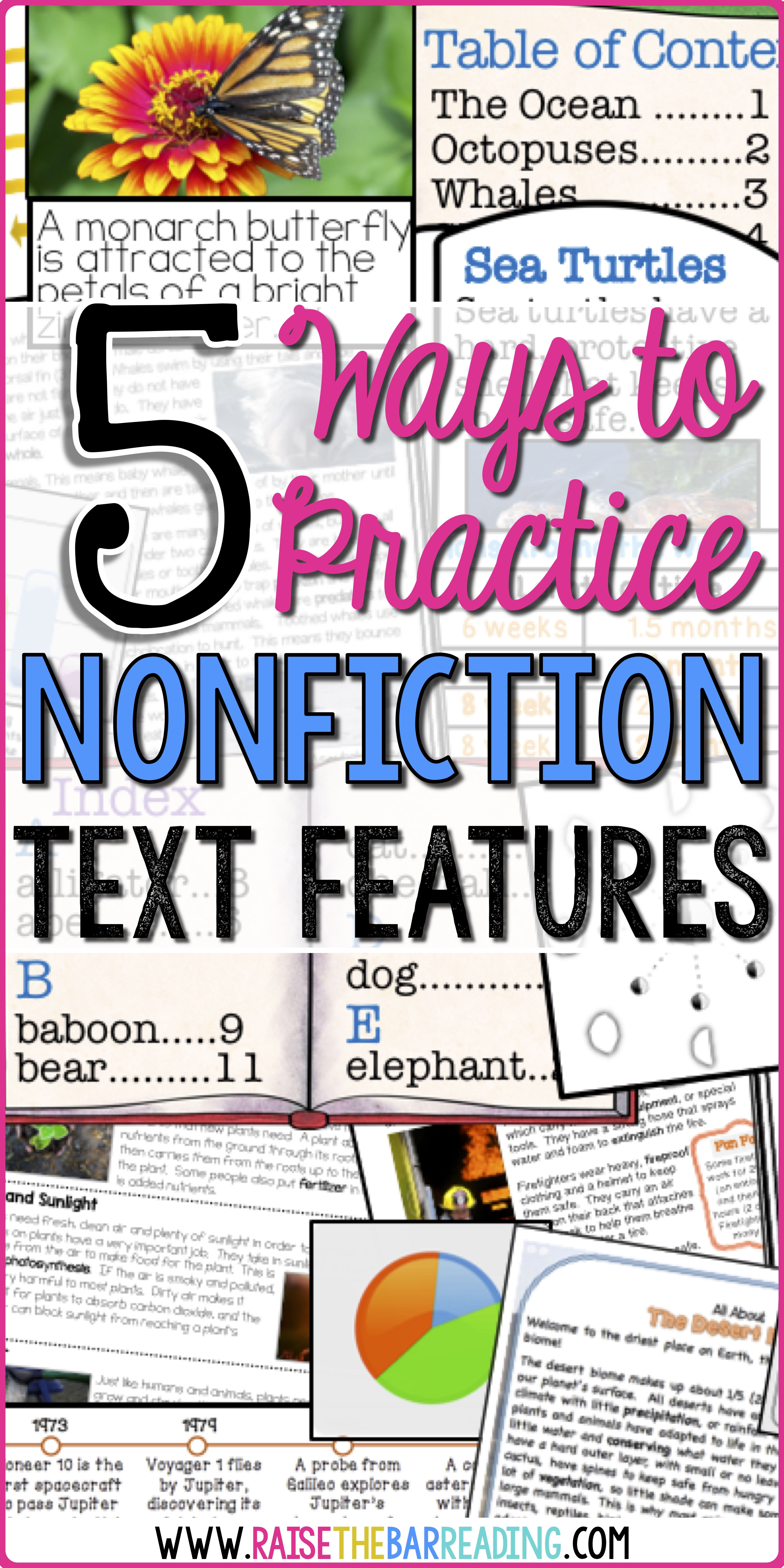 5 Ways To Practice Nonfiction Text Features