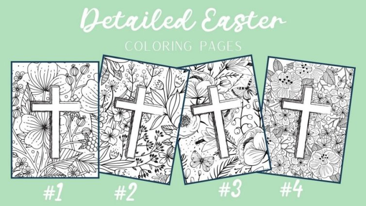 Free Christian Easter Coloring Pages Raise Your Sword
