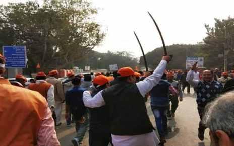 VHP rally in Delhi for Ram Temple