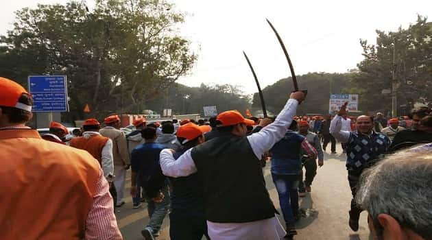 VHP rally in Delhi for Ram Temple