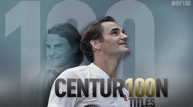 Federer Joins Exclusive Club With 100th Title