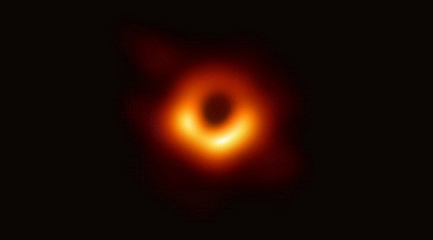 Scientists reveal the first ever image of a Black Hole. It was captured by the Event Horizon Telescope project.