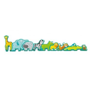 Hape vormenpuzzel dieren en alfabet