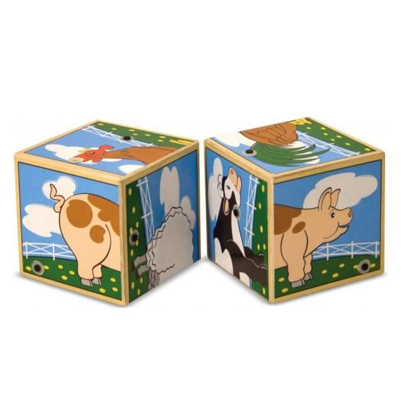 Blokkenpuzzel boerderij