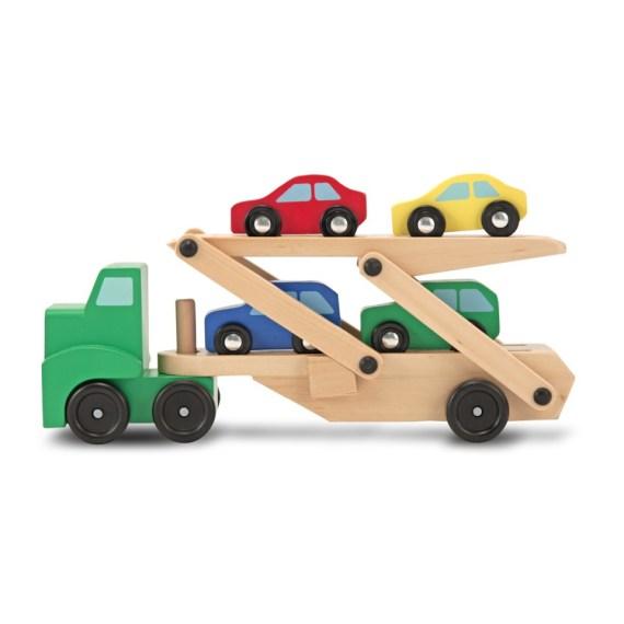 transportwagen met auto's