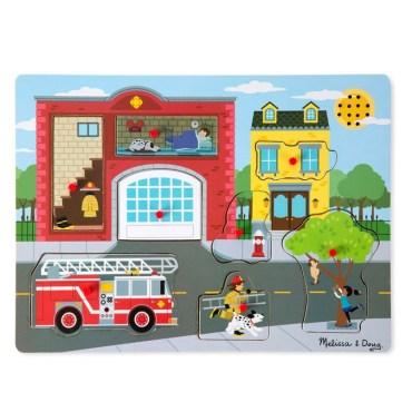 Vormenpuzzel brandweerkazerne
