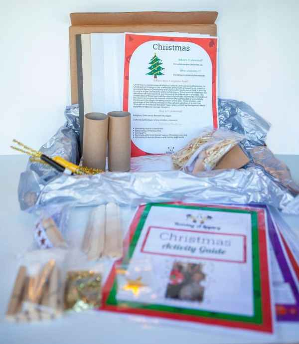 Christmas Legacy Box Display